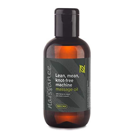 Naissance Lean, mean, knot-free machine – Massageöl für Männer 100ml
