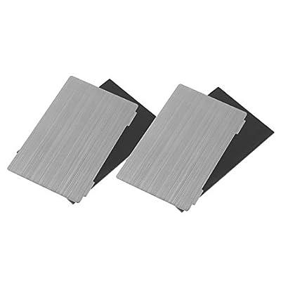 Sovol 3D Upgraded Platform 2 Pack, Resin Magnetic Flexible Steel Plate Flex Bed for ELEGOO Mars 2/ Mars 2 Pro Creality LD-002H Nova3D Bene 4 SLA 3D Printer 140 x 84mm