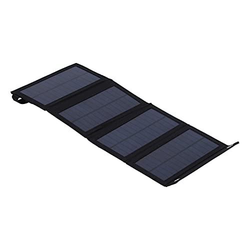 Tenpac Kit De Panel Solar, Cargador Solar Portátil De Alta Eficiencia para La Mayoría De Las Personas para Montañismo, Senderismo, Camping, Viajes