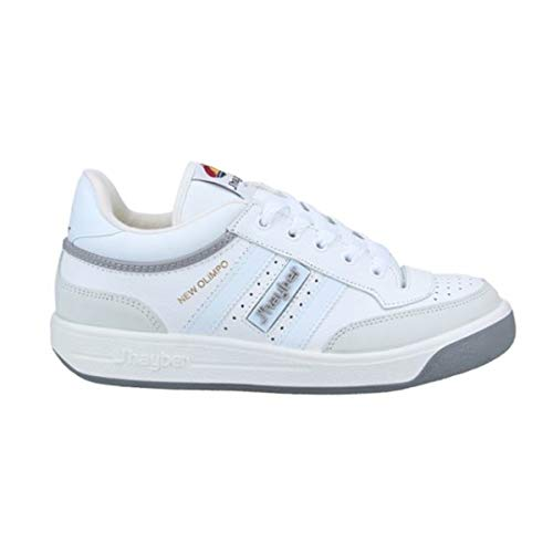Zapatillas J-Hayber Olimpo Comfort Plus Blanco-Gris