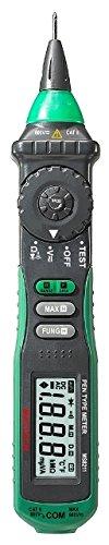 Mastech MS8211 - Multímetro digital tipo lápiz con detector de voltaje sin...