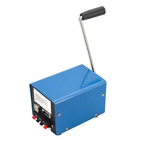 Reeseiy Crank Manual Generator 20W Überlebens Notstromaggregat Für Den Außenbereich Chic Mit Mobiler USB Schnittstelle Sale Garten Täglich Gebrauch Produkt (Color : Colour, Size : Size)