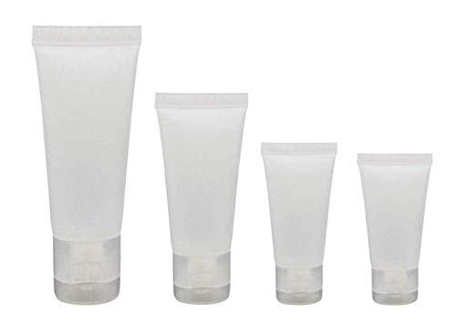 20 STÜCKE Klar Leere Nachfüllbare Kunststoff Weiche Rohre Kosmetische Probenflaschen Gläser Make-up Reisebehälter für Lippenbalsam (30ml)