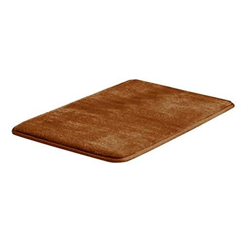 Mdsfe Memory-Badematte Anti-Rutsch-Badteppich mit stark saugfähigem maschinenwaschbarem Duschteppich Küchen-Badematte - C, a4,105X55CM