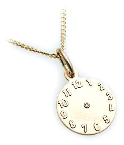 Set Taufring Zirkonia Uhr Gold 333 Gelbgold /& Panzerkette Silber 925 mit Gravur