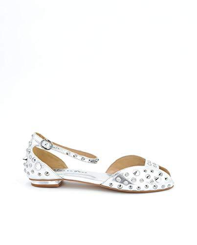 Zapatos Planos de Mujer Alma en Pena Color Plata. V21236 NAPA Silver
