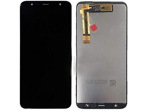 Kit Tela Display Lcd Touch Screen Galaxy J4 Plus J415 Preto + Película de Vidro Temperado Galaxy J4 Plus J415