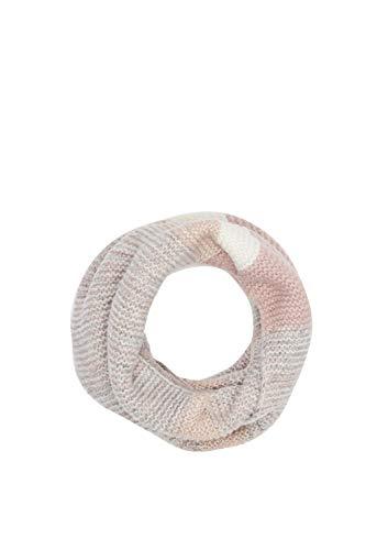 s.Oliver RED LABEL Damen Loopschal mit Farbverlauf light orange knit 1