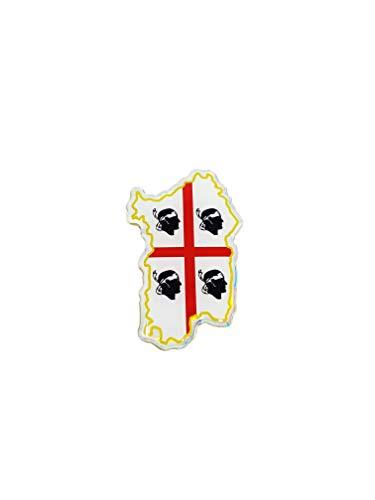 4R Quattroerre.it 14138 3D Aufkleber Sardinien