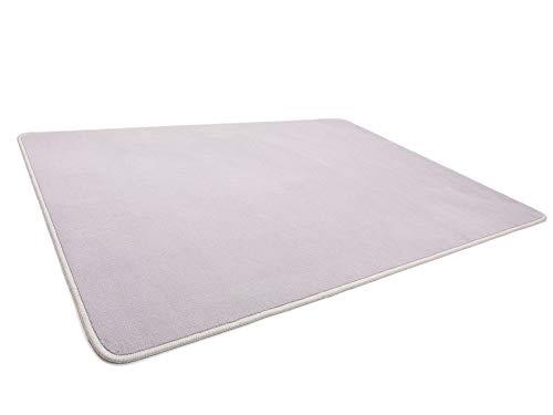 HEVO Vorwerk Bijou grau Spielteppich Nicht nur für Kinder 200x300 cm