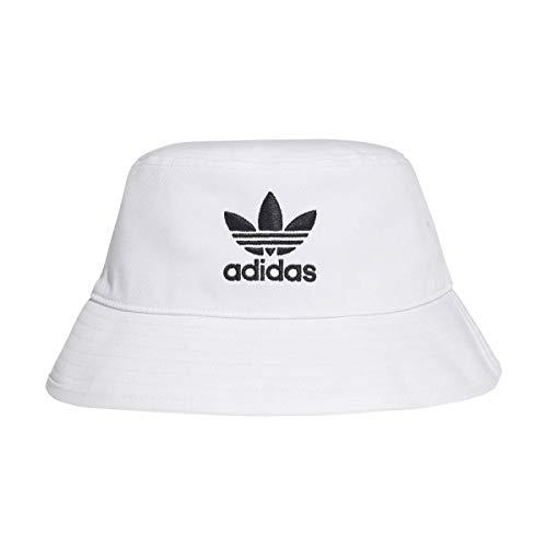 adidas Bucket Hat AC Cappello, Bianco (White/Black), Taglia Unica Unisex-Adulto