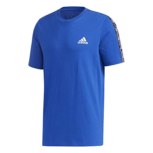 adidas M E TPE T T-Shirt Homme Team Royal Blue/White FR: S (Taille Fabricant: S)