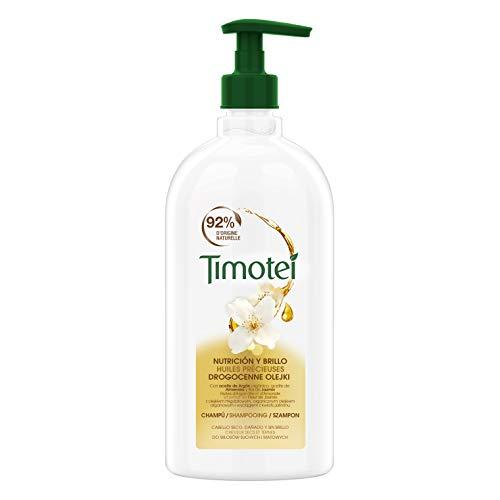 Timotei Shampoo für Damen, wertvolle Öle, Bio-Argan- und Mandelöl, Jasminblütenextrakt, ideal für trockenes und stumpfes Haar, 750 ml