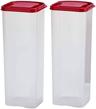 Buddeez Bread Buddy 2 Pack Set w Red Lids Dispenser 2 Pieces product image
