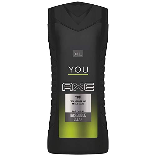 Axe Gel Douche Homme XL You Cool Vetiver and Amber Scent 400ml (lot de 3)