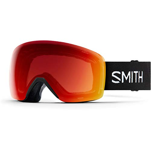 SMITH (SMIZD) Skyline Skibrille mit Chroma Pop, Black 19, Mittelgroße Passform