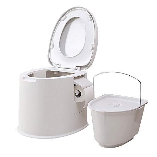 TERMALY Toilette portative pour Voiture, Toilette extérieure Multifonction pour Voiture, Toilettes pour Les Personnes âgées et Les Femmes Enceintes, sûre et sans Odeur, Double Joint d'étanchéité,A