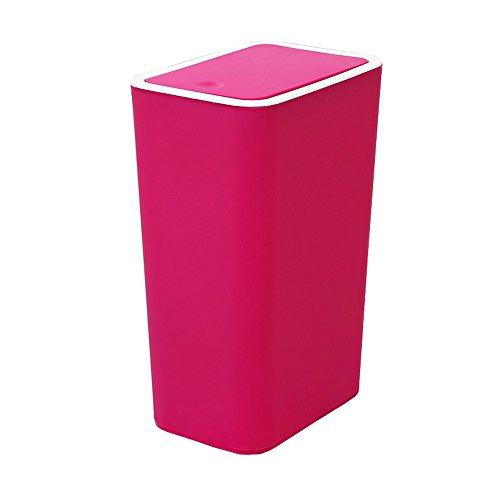 Trash can La Poubelle Peut la Poubelle en Plastique de ménage de PP Peut 22 * 15.5 * 33.5cm