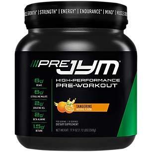 'Pre Jym High Performance PreWorkout Tangerine (19.9 oz. / 20 Servings)