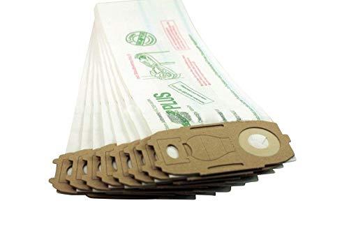 8 hochleistungs Staubsaugerbeutel aus mehrlagigem Filterpapier passend für Vorwerk Kobold VK 118 119 120 121 122 - Hohe Filterleistung durch spezielles Filterpapier - Made in Germany