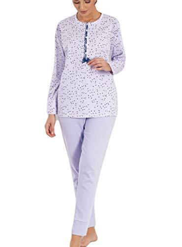 MARIE CLAIRE 8615-97216-LILA-48 - Pijama Mujer Clásico Mujer Color: Lila Talla: 48