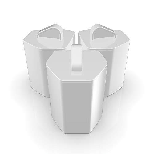 Imetec ZeroCalc KF1 100 Kit 3 filtri anticalcare per Ferri da Stiro Imetec ZeroCalc Pro Ceramic PS2 2400, PS2 2000, PS2 2200, Intellivapor PS3 3000, Imetec Onda, Ricambi Originali