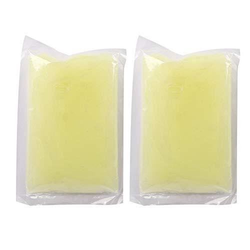 Hands Care Paraffine voor Handvoeten, 2 stuks Hydraterende Loslaten Hand Foot Beauty Waxen Masker voor Hydrating Exfoliating Nourish Whitening Skin(Citroen)