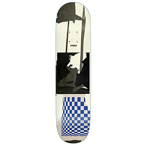 Quasi Skateboard-Brett / Deck, 22,1 cm, Weiß