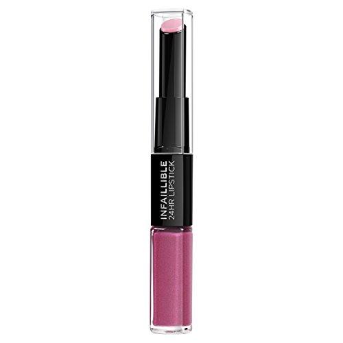 L'Oréal Paris Lippenstift Indefectible 121 Flawless Fuchsia, 1er Pack
