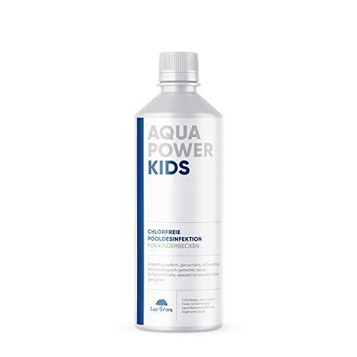 KIDS für Kinderbecken | Algizid chlorfrei | chlorfreie Wasserpflege für Pool | chlorfreie Poolpflege | chlorfreie Wasserpflege - brennt nicht in den Augen - ohne chlor