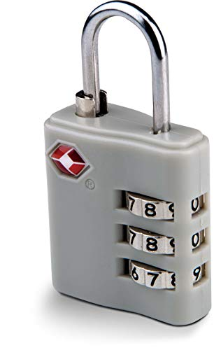 Kimood CADENAS TSA COMBINAISON NUMÉRIQUE - Light Grey, One Size