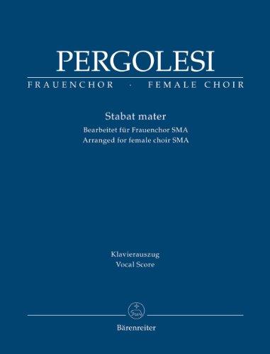 Stbat Mater Arregemnt pour 3 voix de femmes --- Chant (Sop/Mez/Alt) et Piano