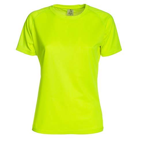 CHEMAGLIETTE! T-Shirt Sportiva Donna Maglia Manica Corta per Running Palestra Sprintex SPW100