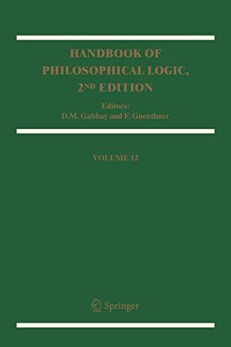 Handbook of Philosophical Logic: Volume 12