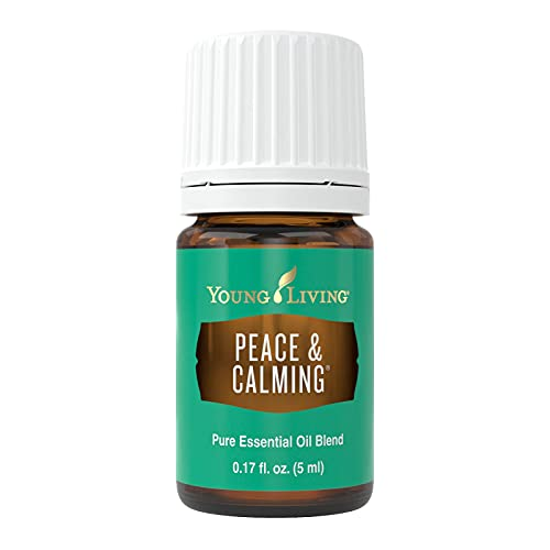 Young Living Peace & Calming Essential Oil Blend - Citrusy, Floral, Down-to-Earth Aroma - 5 ml