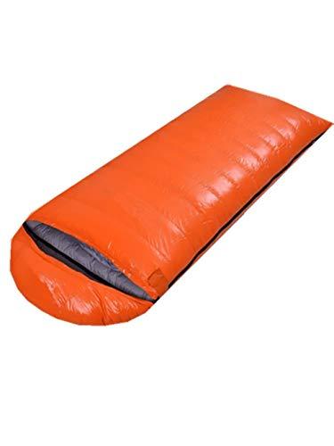 APAN Ultraleichter Duck Down Schlafsack 400 G Füllung Tragbarer 4-Jahreszeiten-Schlafsack Outdoor-Schlafsack Single Hot and Breathable Waterproof