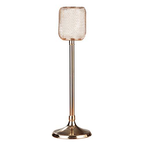 YIFEI2013-SHOP Portavelas Candelero Europeo Accesorios for la Cena romántica a la luz de Las Velas Decoración de la Mesa en casa Candelabros (Size : L)