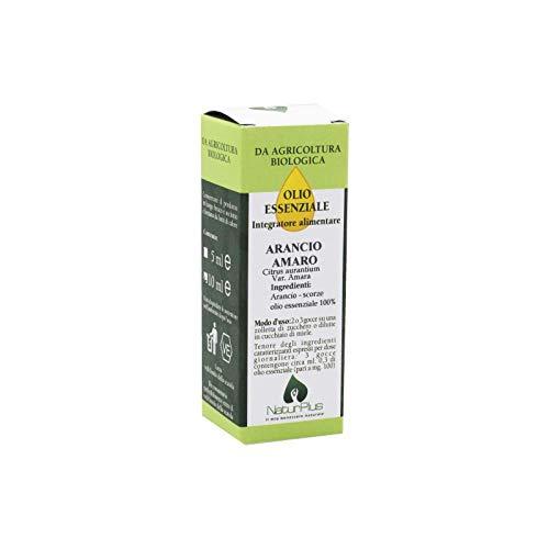 NaturPlus Olio Essenziale di Arancia Amaro - 10 Ml