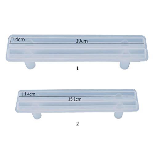 Heilonglu Kristall-Epoxidharz-Form, Obstplatte, biegbarer Griff, Guss-Silikonform, DIY, Handwerk, Schmuckherstellungswerkzeug