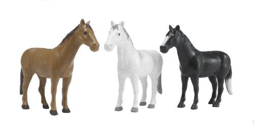 Bruder 02306 paard (1 stuk kleur kan variëren).