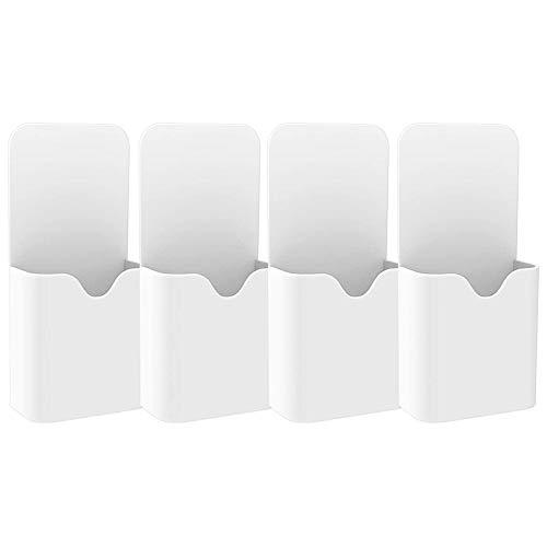 Viudecce (Paquete de 4) Organizador de Almacenamiento de Rotulador de Borrado en Seco/BolíGrafo para Refrigerador DoméStico, Pizarra de Cristal de Oficina Otras Superficies MagnéTicas