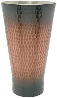 新光金属 タンブラー 素銅 中350ml 純銅 手打ち鎚目タンブラー BR-002