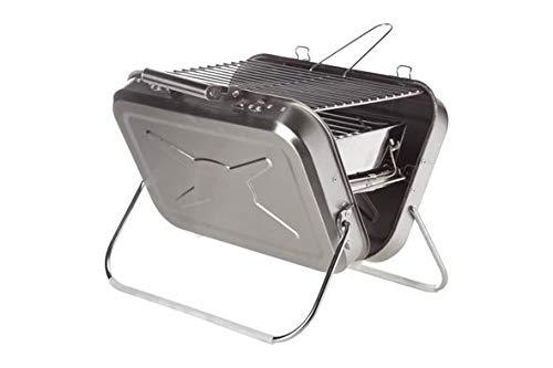 AC-Déco Barbecue De Voyage - 40 X 31,5 X 32 Cm - INOX - Gris