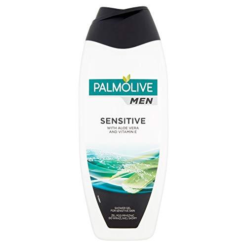 Palmolive Men Duschgel - Sensitiv - mit Aloe Vera und Vitamin E - 3er Pack (3 x 500ml)