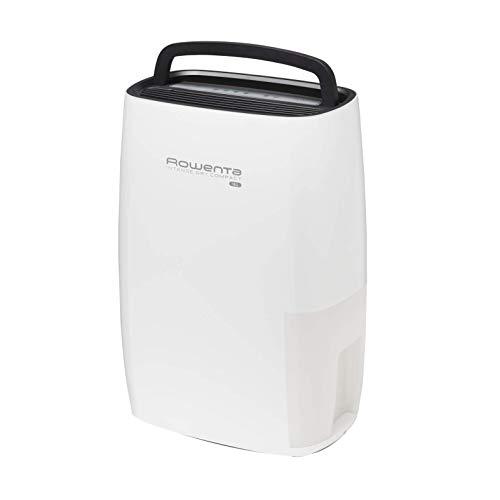 Rowenta Intense Dry Compact DH4216F0 Deshumidificador 16 l para hasta 35 m² con depósito de 3 l, silencioso con control y apagado automático, facilita secado ropa, filtrado de polvo (Reacondicionado)
