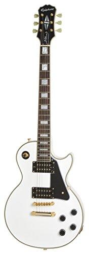 Epiphone Les Paul Custom Classic Pro - Limited Edition - Electric Guitar, Alpine White