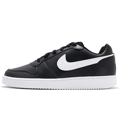 Nike Herren Ebernon Low Sneakers, Schwarz (Black/White 002), 41 EU