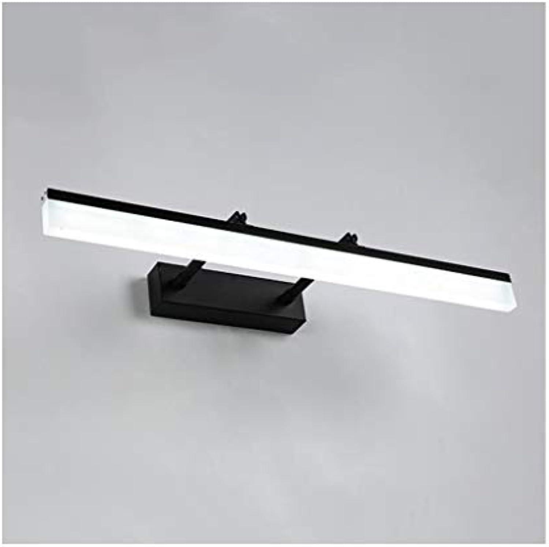 William 337 Spiegel Frontleuchte Moderne minimalistische versenkbare Rotation LED Badezimmer Wandleuchte [Energieklasse A +] (gre   60cm)