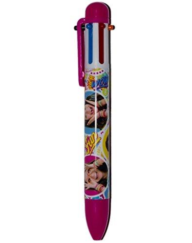 Soy Luna - Bolígrafo, 6 colores, diseño de Disney