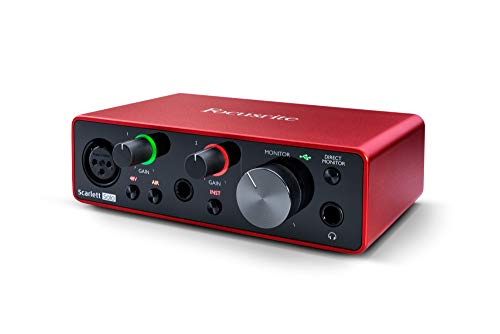 Focusrite Scarlett Solo (3rd Gen) USB Audio Interface with Pro Tools   First